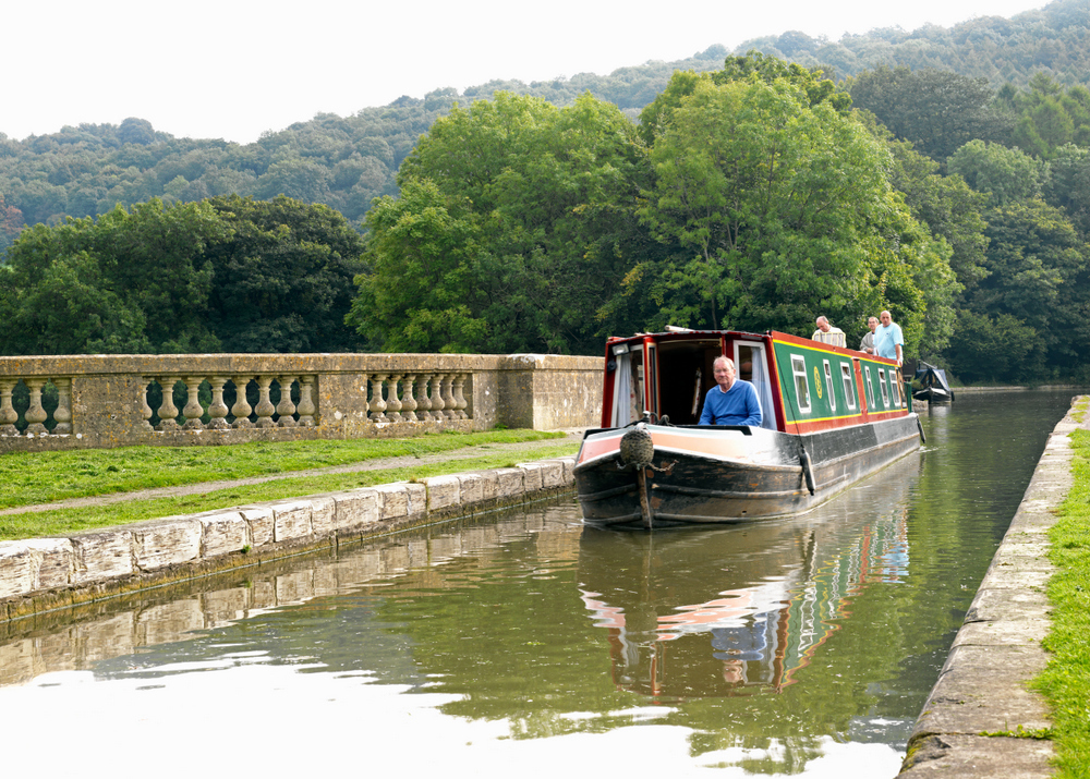 Visit the Kennet & Avon Canal walks and the Dundas Aqueduct
