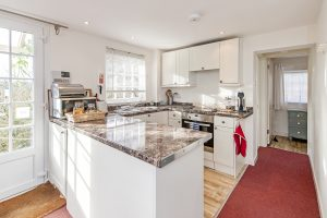 Tucking Mill View Self-Catering holidays luxury kitchen area