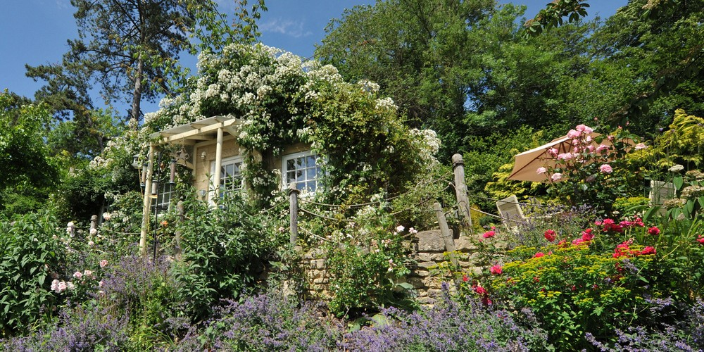 Stay at the beautiful Tucking Mill View Cottage