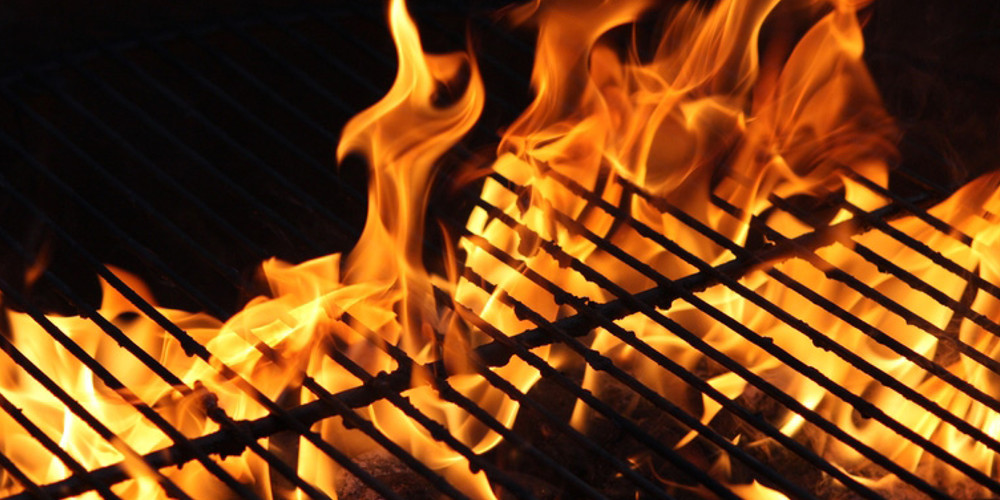 BBQ for the sunny weather at Tucking Mill View luxury self-catering cottage