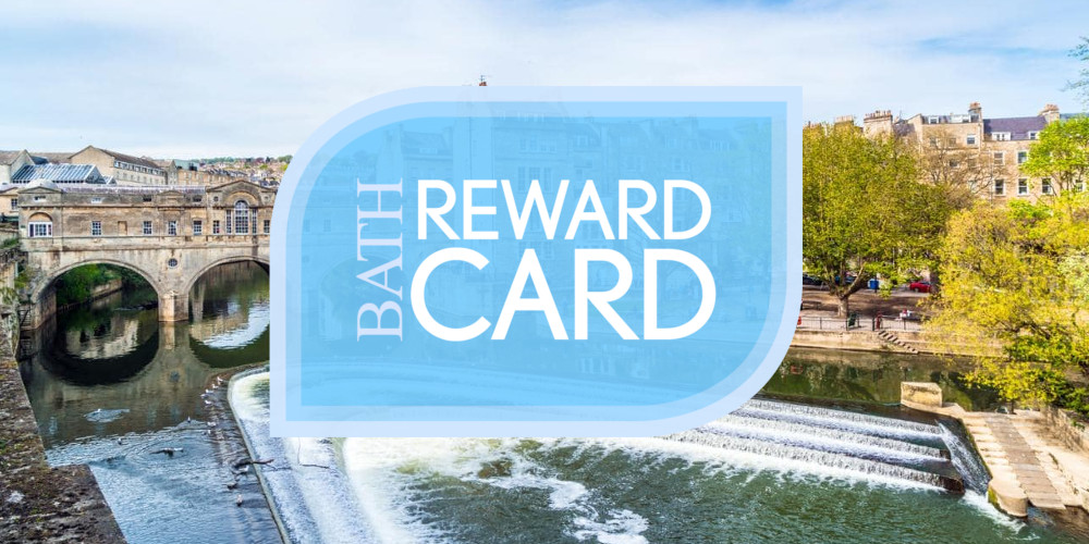 Bath Reward Card for Tucking Mill View guests